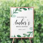 Load image into Gallery viewer, Greenery Welcome Sign - Blú Rose Designs