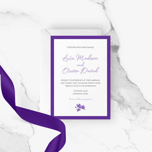 Lula Wedding Invitation | Printable