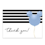 Load image into Gallery viewer, Mickey Balloon Thank You Card | Printable