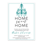 Load image into Gallery viewer, Classy Home Sweet Home Invitation - Blú Rose Designs