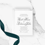 Load image into Gallery viewer, French Modern Wedding Invitation | Printable