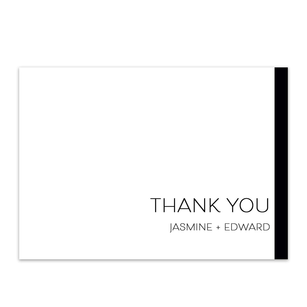 Modern Love Thank You Card - Blú Rose Designs