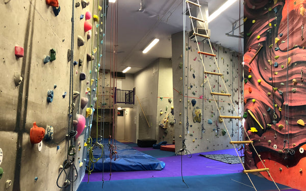 Summer Camp at Beyond the Crux Climbing Gym!