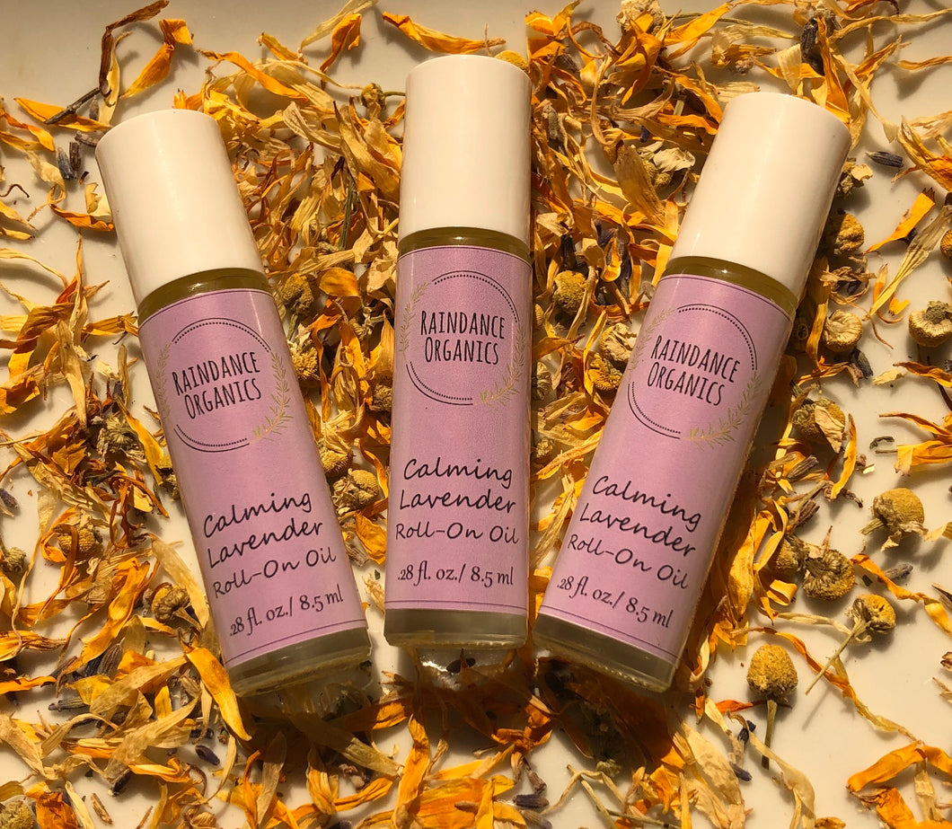 Calming Lavender Roll On Oil