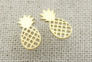 Pineapple Earrings - Various Colours