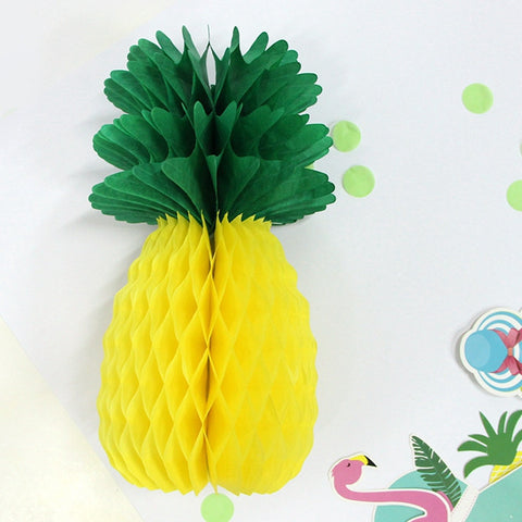 Paper Pineapple Table Decoration