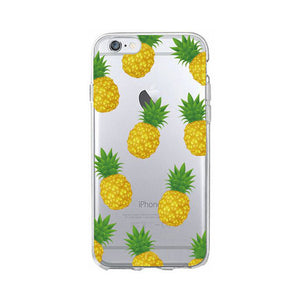 Pineapple Print Phone Case for iPhone and Samsung