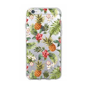 Tropical Pineapple Phone Case for iPhone and Samsung