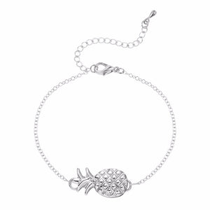 Pineapple Bracelet - Silver or Gold