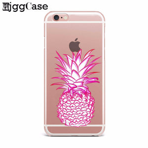 Pink Pineapple Case for iPhone and Samsung