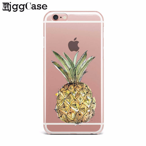 Sketch Pineapple Case for iPhone and Samsung
