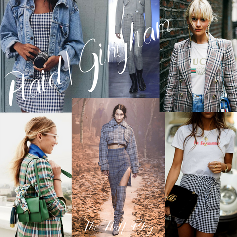 gingham fashion trend