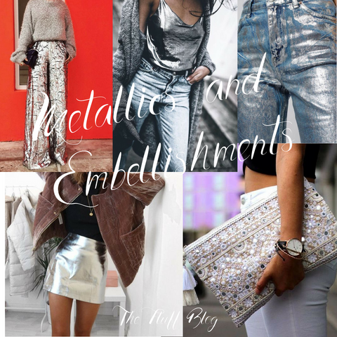 metallic fashion trend