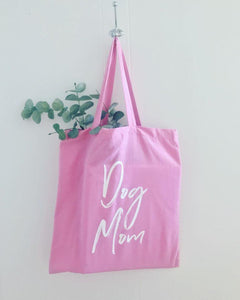 dog mom gift dog mom tote bag gift for her reusable bag