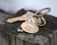 Dog Mom Keychain - Dog Mom Gift - Gift for Her - Pet Parents Gift - Fur Mom - Dog Mom Keytag - Gift for Couples - Cat Mom Gift - Unique Gift