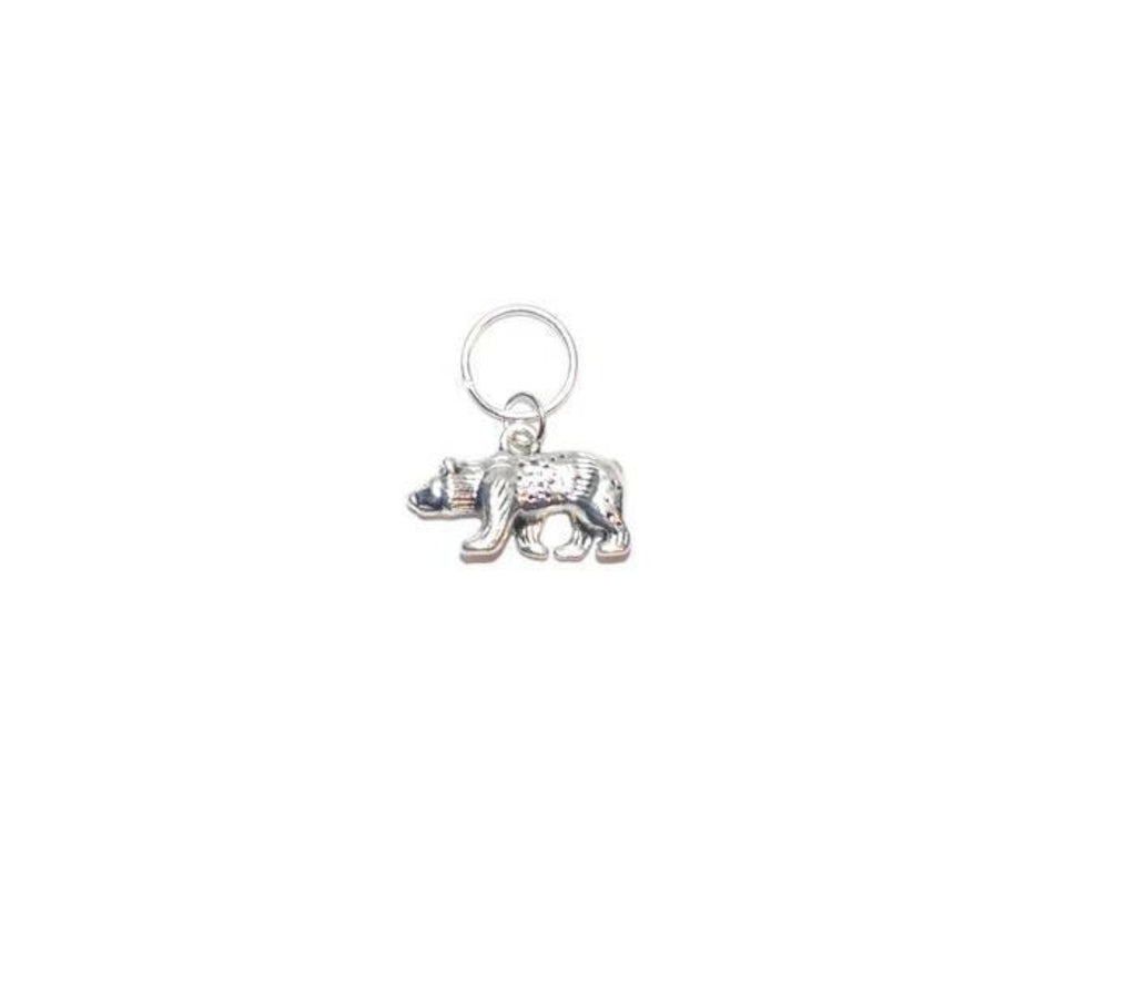 Dog Collar Charm Bear Charm