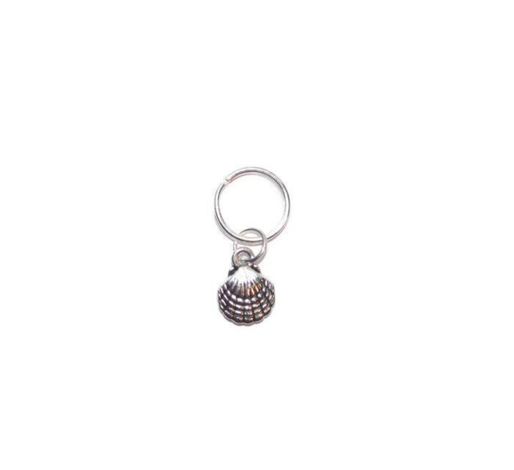 Seashell Pet Collar Charm