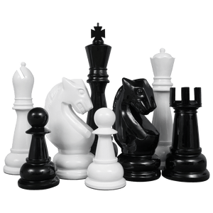 "48"" Fiberglass Giant Chess Set"