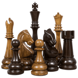 "48"" Teak Giant Chess Set"