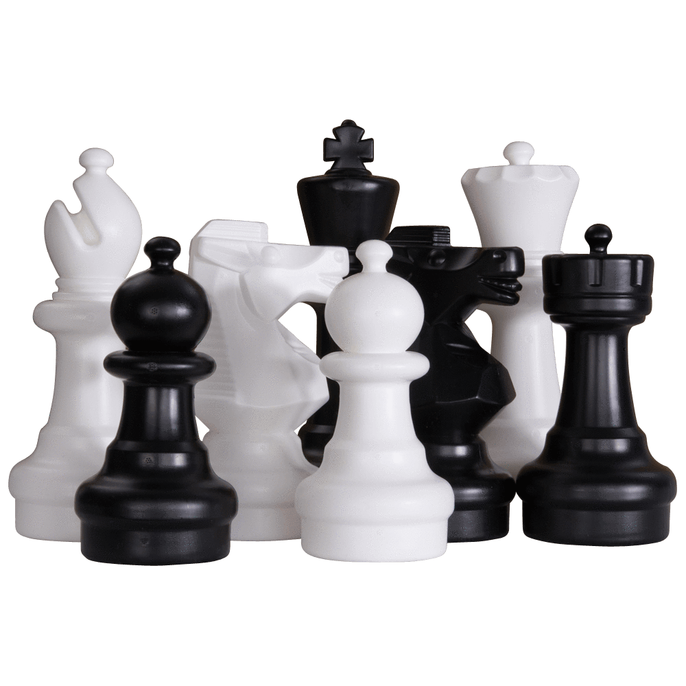 "12"" Plastic Giant Chess Set"