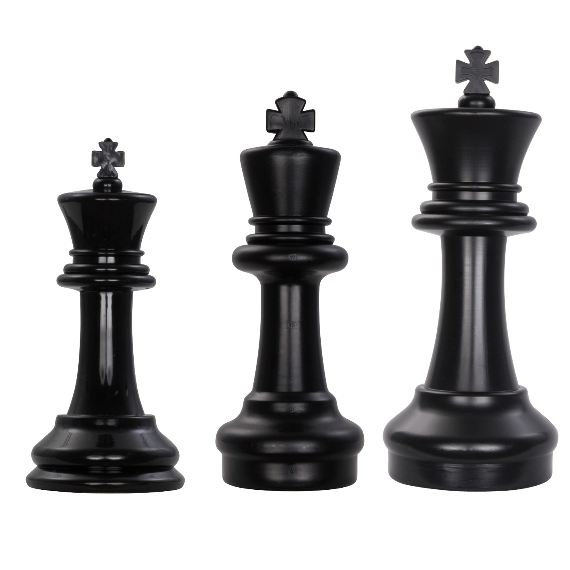 "8"", 12"", and 16"" Giant Plastic chess Sets"