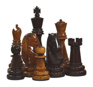 "24"" Teak Giant Chess Set"