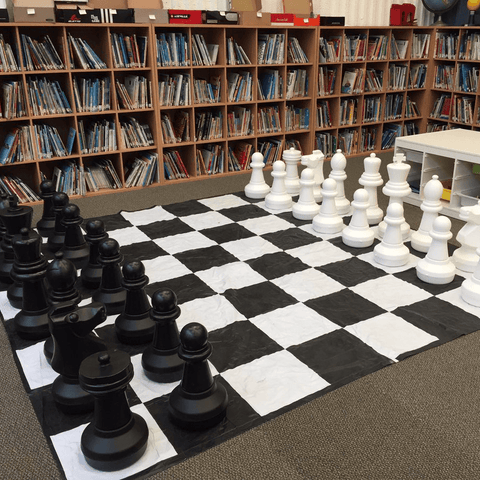 Giant Chess Sets for Libraries and Science Centers