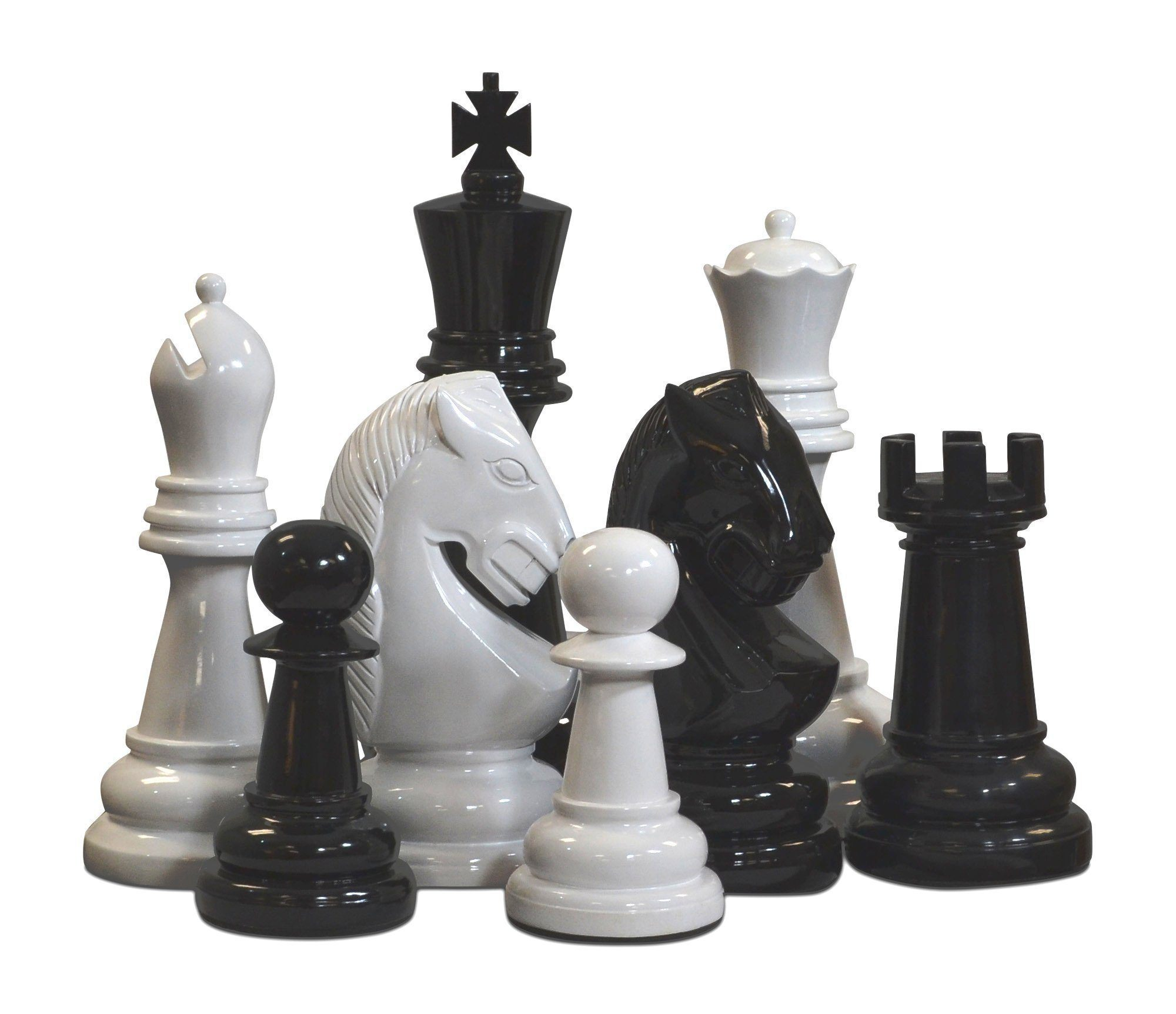 "24"" Fiberglass Giant Chess Set"