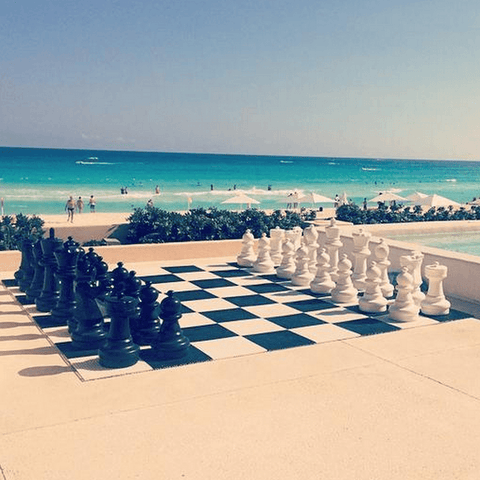 Giant Chess Sets for Resorts, Hotel, and Campgrounds