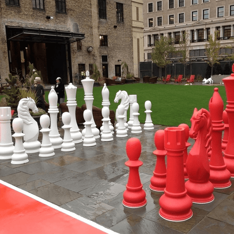 Giant Chess Sets for Corporations