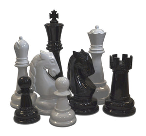 "36"" Fiberglass Giant Chess Set"