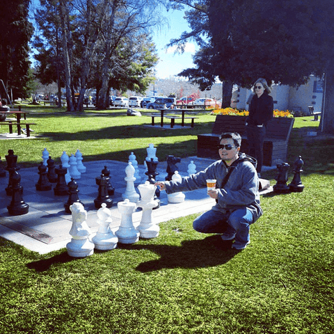 Giant Chess Sets for Universities