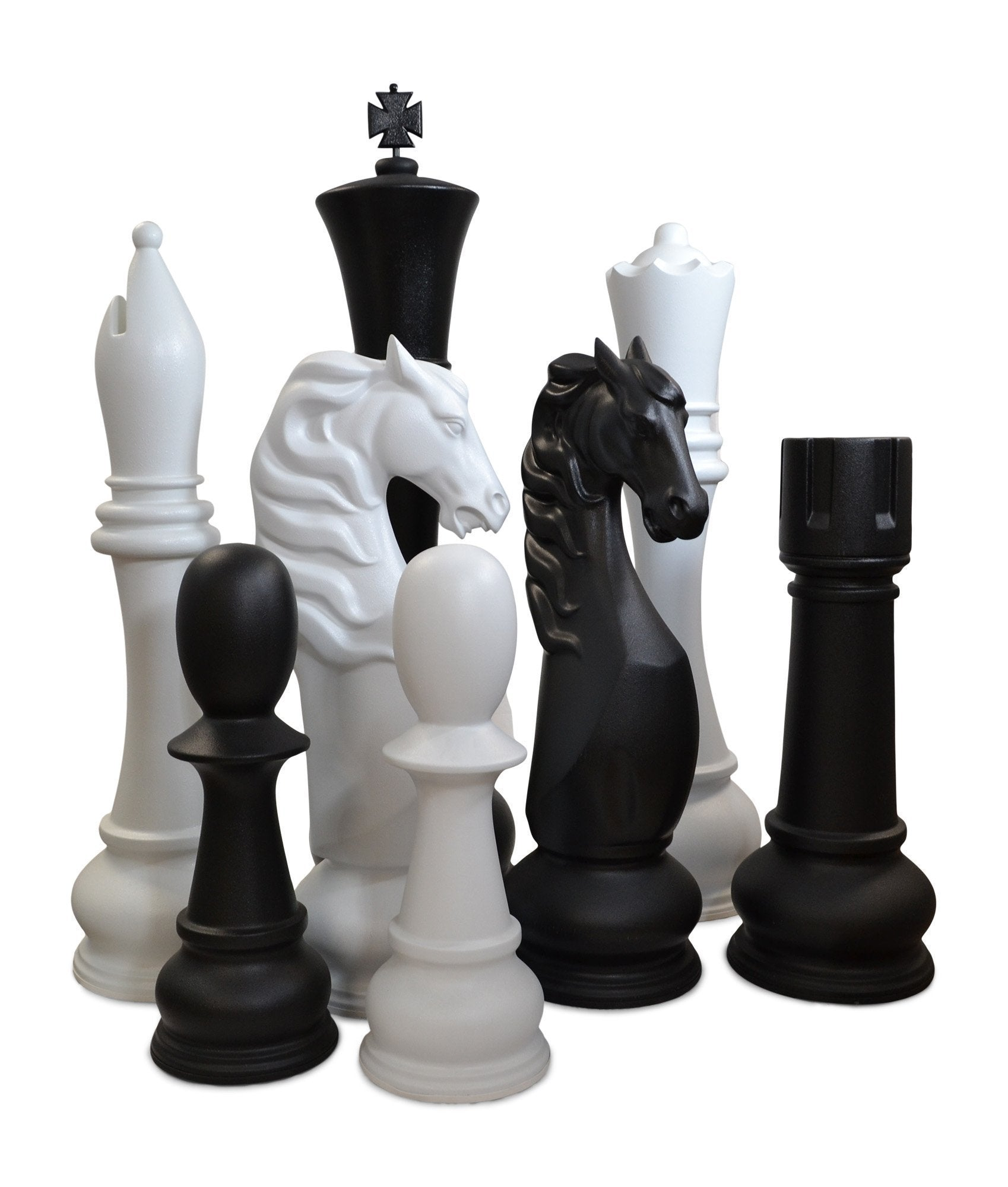 "72"" Fiberglass Giant Chess Set"