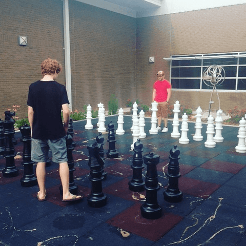 Giant Chess Set for Chess Clubs