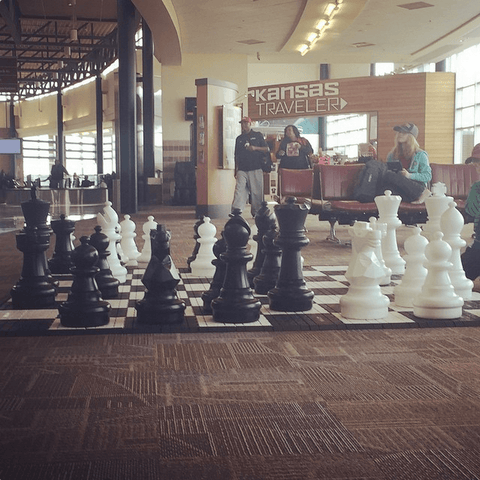 Giant Chess Sets for Shopping Malls
