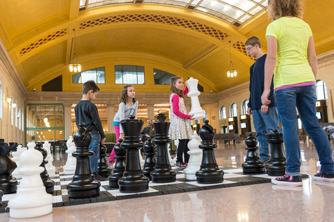 MegaChess 25 Inch Plastic Giant Chess at at Saint Paul Union Depot