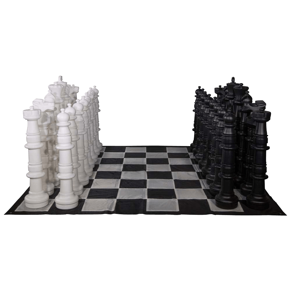 MegaChess 49 Inch Giant Plastic Chess Set - Rental |  | MegaChess.com