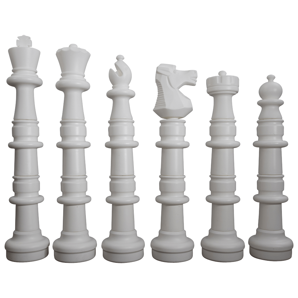 MegaChess 49 Inch Plastic Giant Chess Set with Plastic Board |  | MegaChess.com