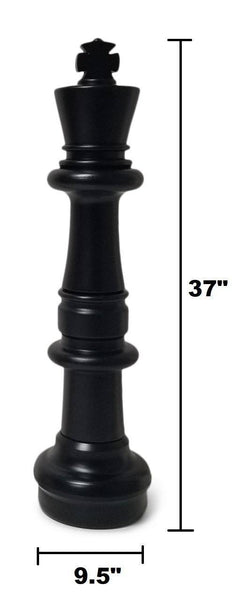 MegaChess 37 Inch Plastic Giant Chess Set with Nylon Mat |  | MegaChess.com