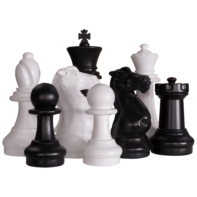 MegaChess 16 Inch Plastic Giant Chess Set with Plastic Board | Default Title | MegaChess.com