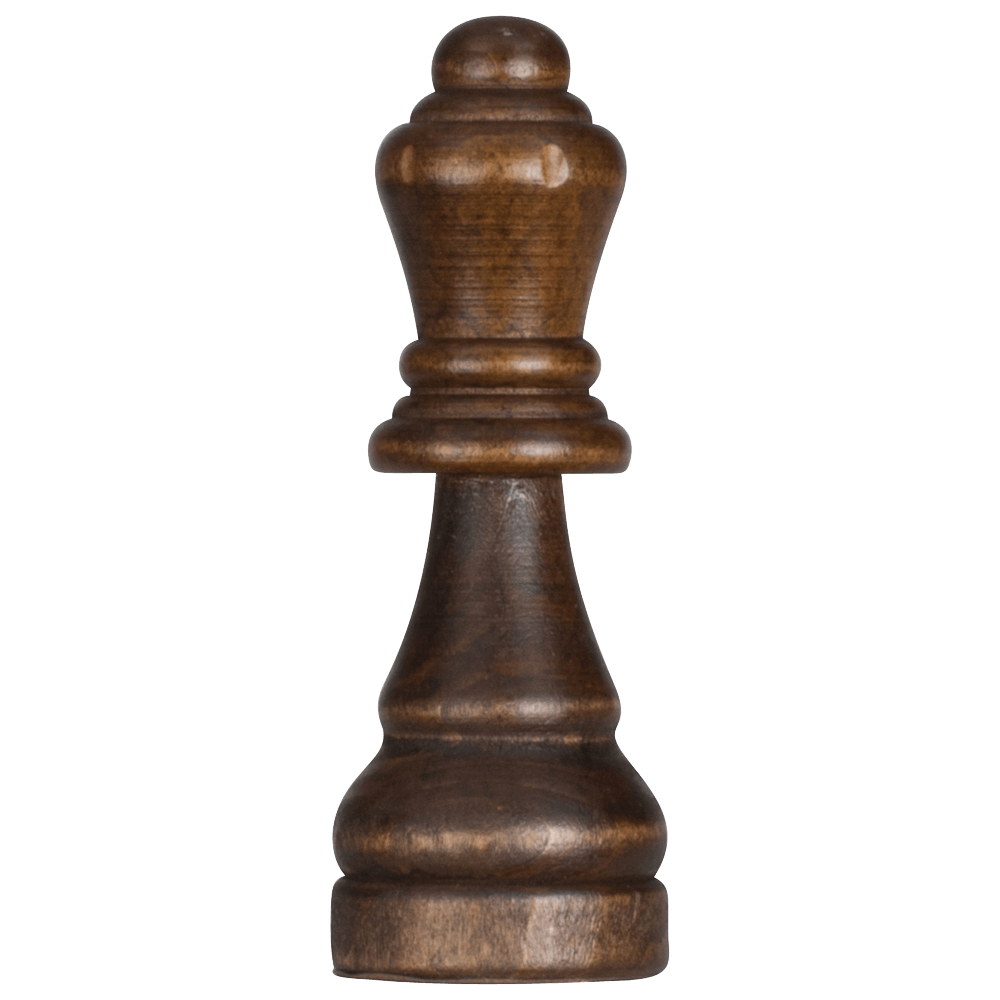 MegaChess 6 Inch Dark Rubber Tree Queen Giant Chess Piece |  | MegaChess.com