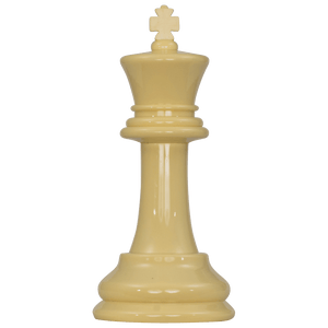 MegaChess 8 Inch Light Plastic King Giant Chess Piece |  | MegaChess.com