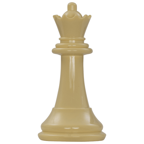 MegaChess 7 Inch Light Plastic Queen Giant Chess Piece |  | MegaChess.com