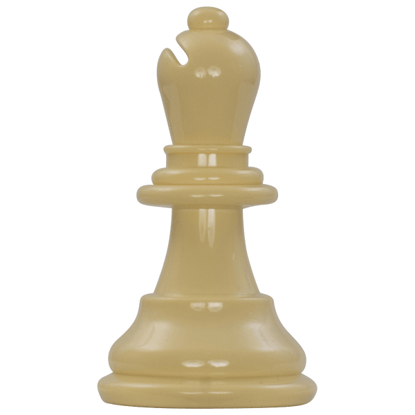 MegaChess 6 Inch Light Plastic Bishop Giant Chess Piece |  | MegaChess.com
