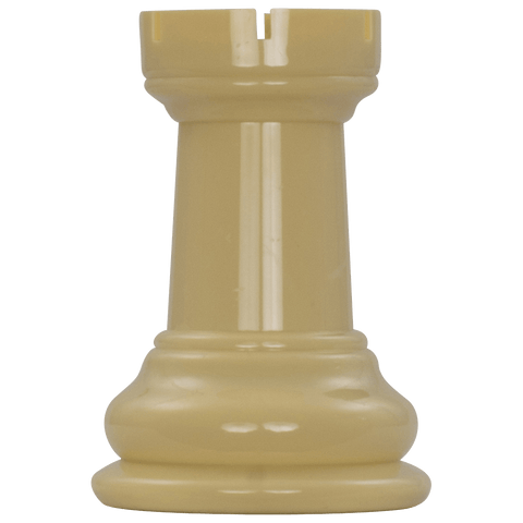 MegaChess 5 Inch Light Plastic Rook Giant Chess Piece |  | MegaChess.com
