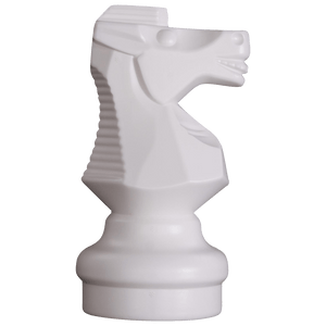 MegaChess 9 Inch Light Plastic Knight Giant Chess Piece |  | MegaChess.com