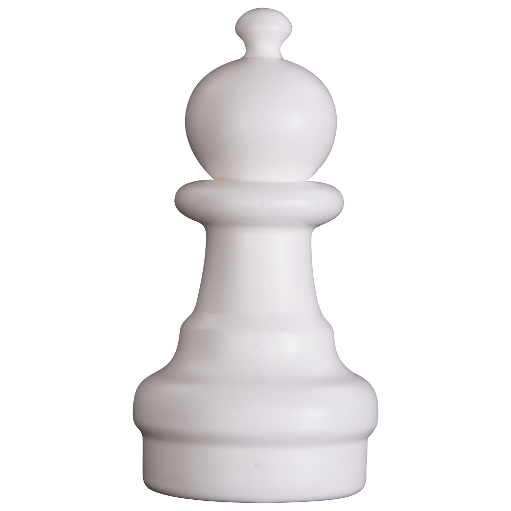 MegaChess 8 Inch Light Plastic Pawn Giant Chess Piece |  | MegaChess.com