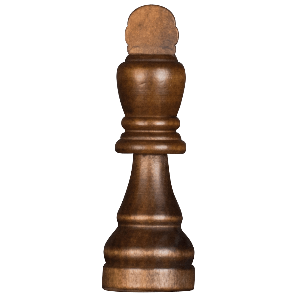 MegaChess 7 Inch Dark Rubber Tree King Giant Chess Piece |  | MegaChess.com