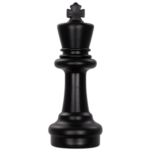 MegaChess 12 Inch Dark Plastic King Giant Chess Piece |  | MegaChess.com