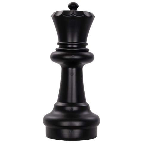 MegaChess 11 Inch Dark Plastic Queen Giant Chess Piece |  | MegaChess.com
